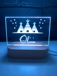 Personalised Boho Night Lights