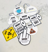 Set of 8 Pandemic Christmas 2020 Decoration set
