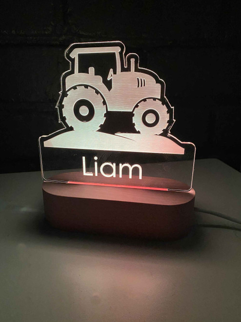 Tractor LED Night Light - Kid Bedroom Night Lights
