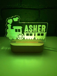 Train LED Night Light - 7 colour changes