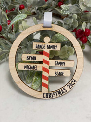 North Pole Family Name Christmas Decorations