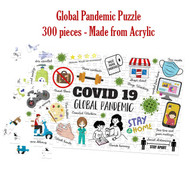 Global Pandemic Acrylic Puzzle