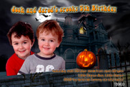 Custom photo invitations for Halloween parties. Order online in Australia