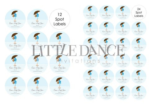Personalized & custom baby shower party Labels & Stickers - boys blue mum to be theme. For sale in Australia - order online