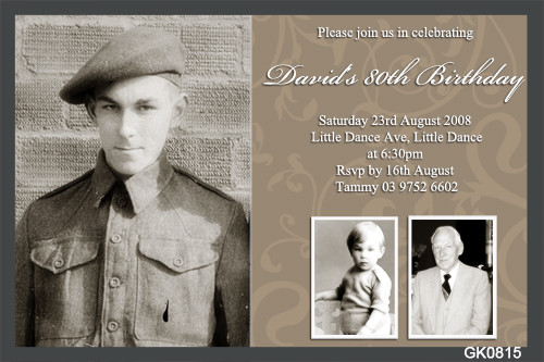 80th birthday party invitations 80th birthday party invites for sale